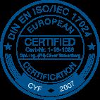 DIN EN ISO 17024